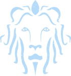 Couragio Lion Light Blue